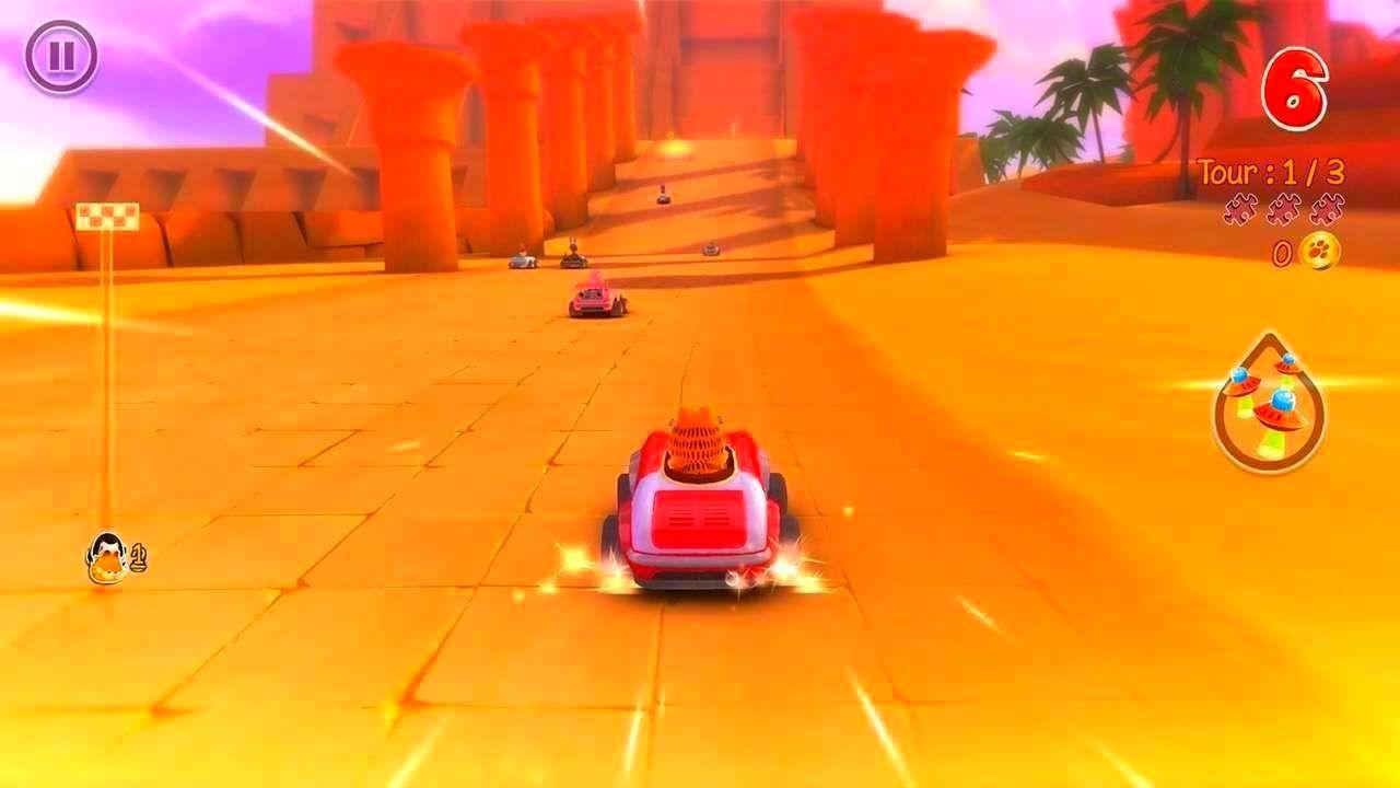 Screenshot from Garfield Kart (10/10)