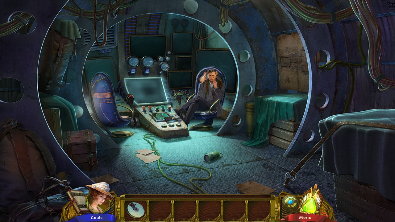 Screenshot from The Esoterica: Hollow Earth (4/6)