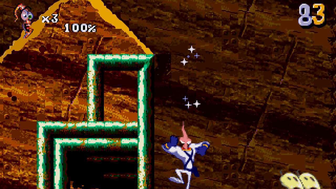 Screenshot from Earthworm Jim 2 (1/6)
