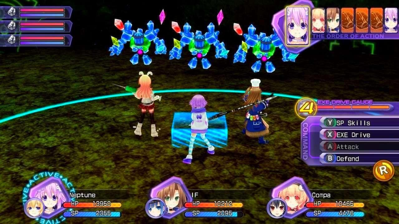 Screenshot from Hyperdimension Neptunia Re;Birth1 (7/10)