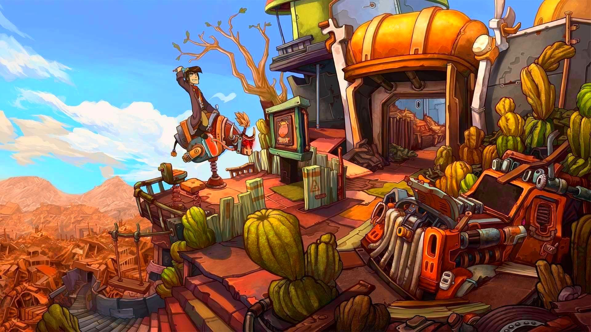 Screenshot from Deponia: The Complete Journey (4/9)