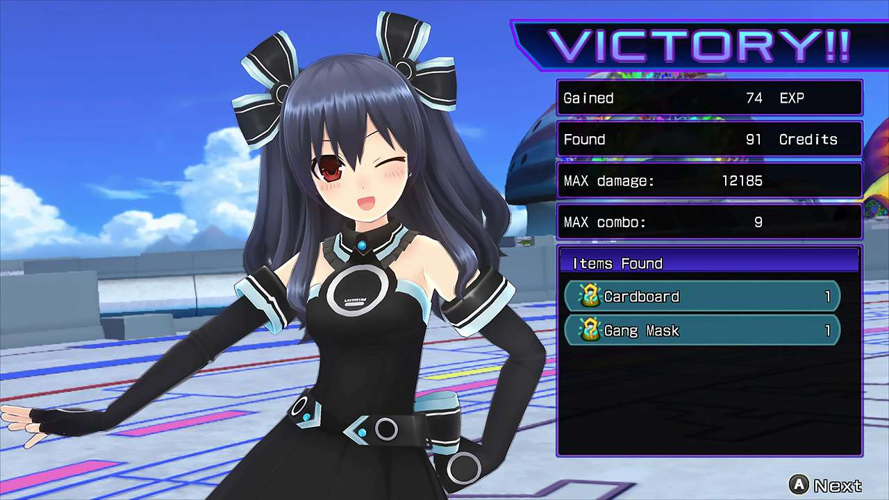 Screenshot from Hyperdimension Neptunia Re;Birth2: Sisters Generation (7/10)