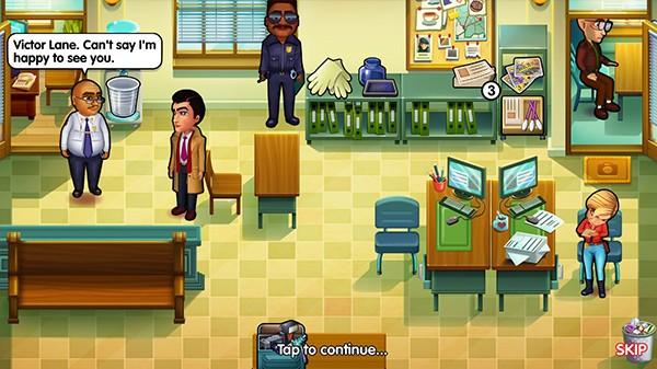 Screenshot from Parker & Lane: Criminal Justice (1/7)