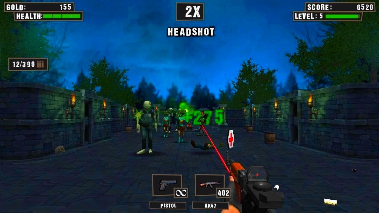 Screenshot from Zombie Camp: Last Survivor (1/3)