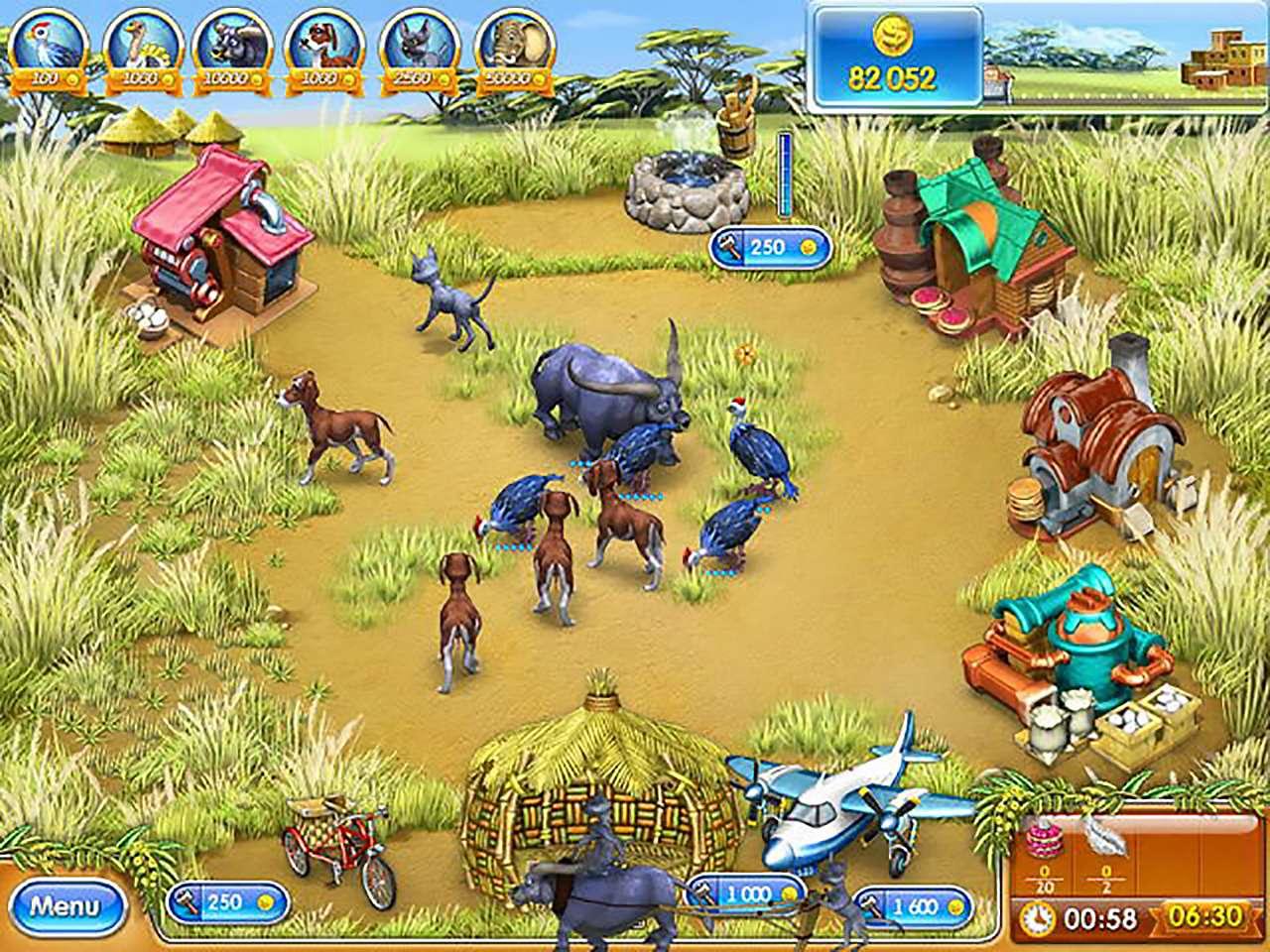 Screenshot from Farm Frenzy 3: Madagascar (3/6)