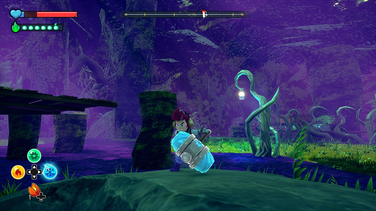 Screenshot from A Knight's Quest (3/5)