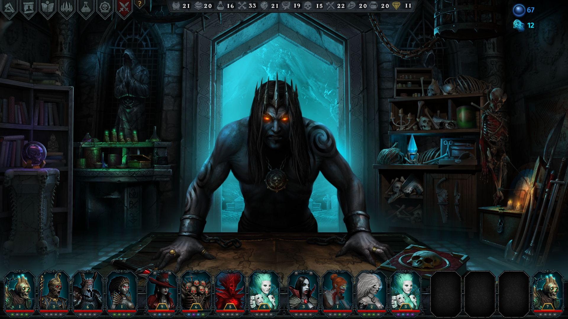 Screenshot from Iratus: Lord of the Dead (4/8)
