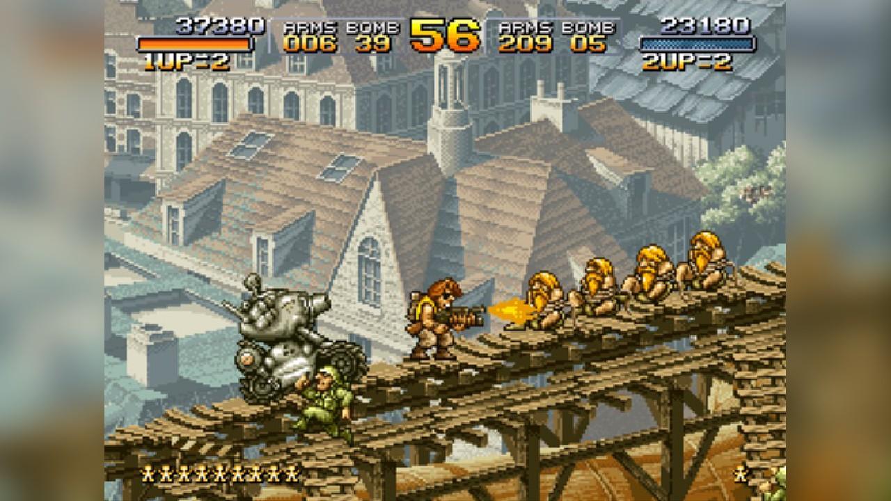 Screenshot from Metal Slug (2/9)