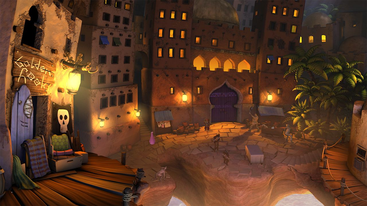 Screenshot from The Book of Unwritten Tales 2 (1/5)