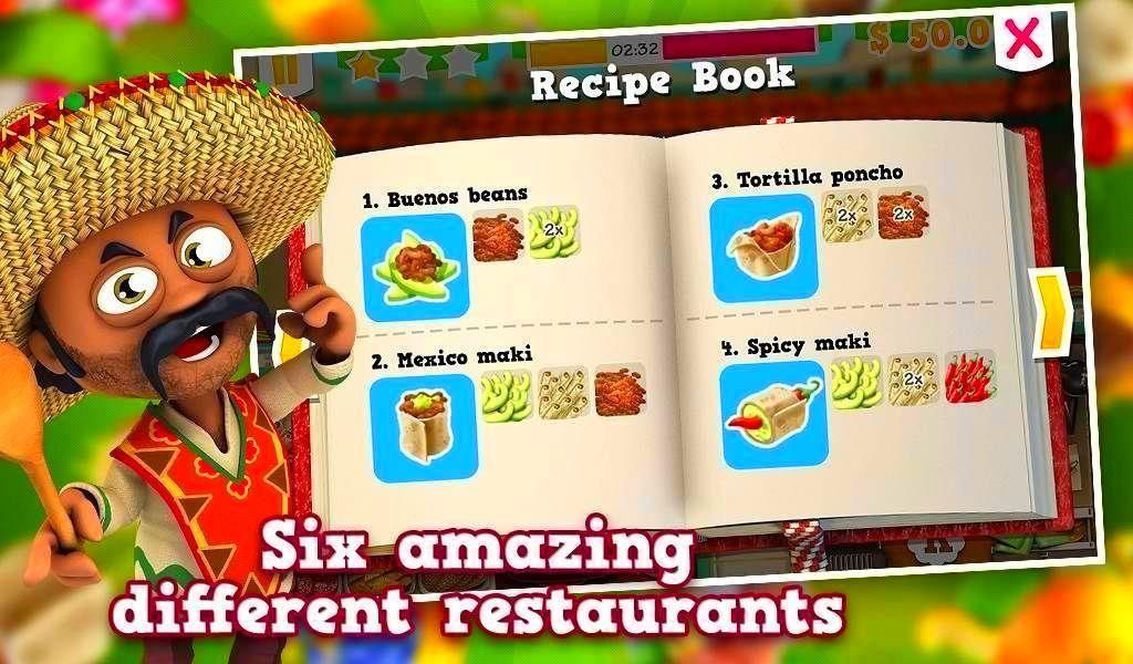 Screenshot from Youda Sushi Chef 2 (2/4)