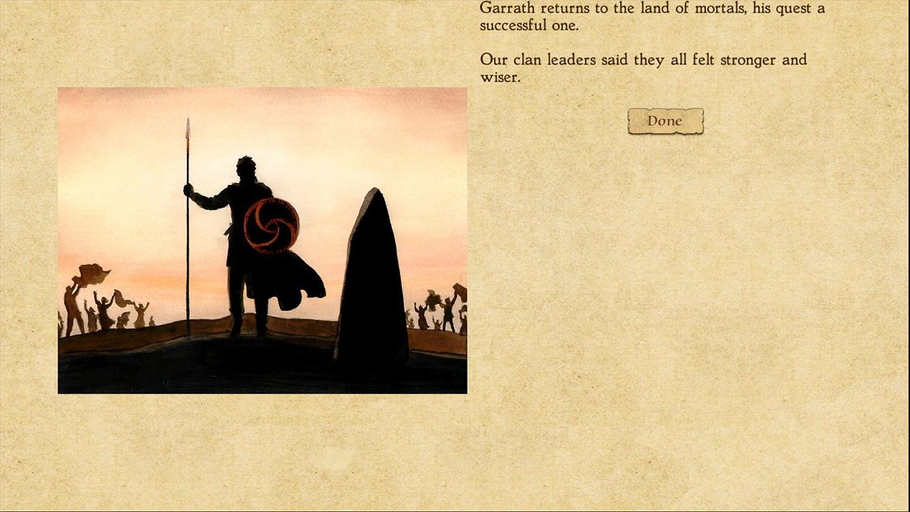 Screenshot from King of Dragon Pass (2/5)