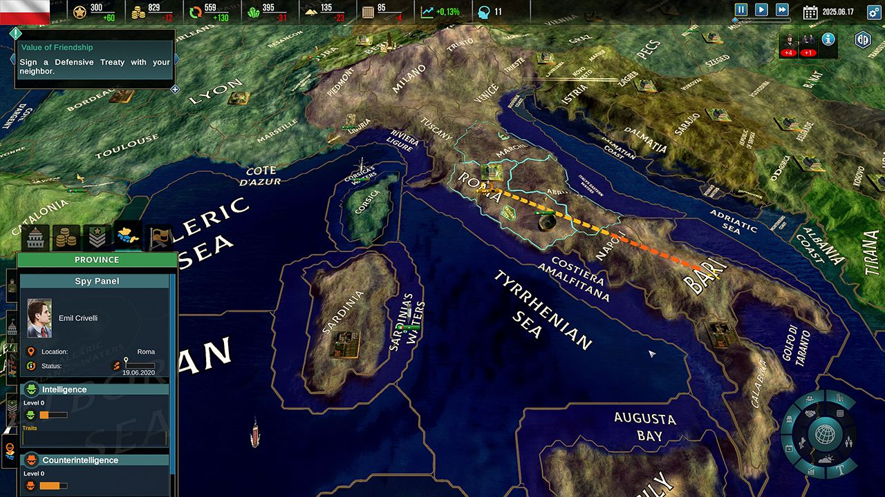 Screenshot from Realpolitiks II (4/9)