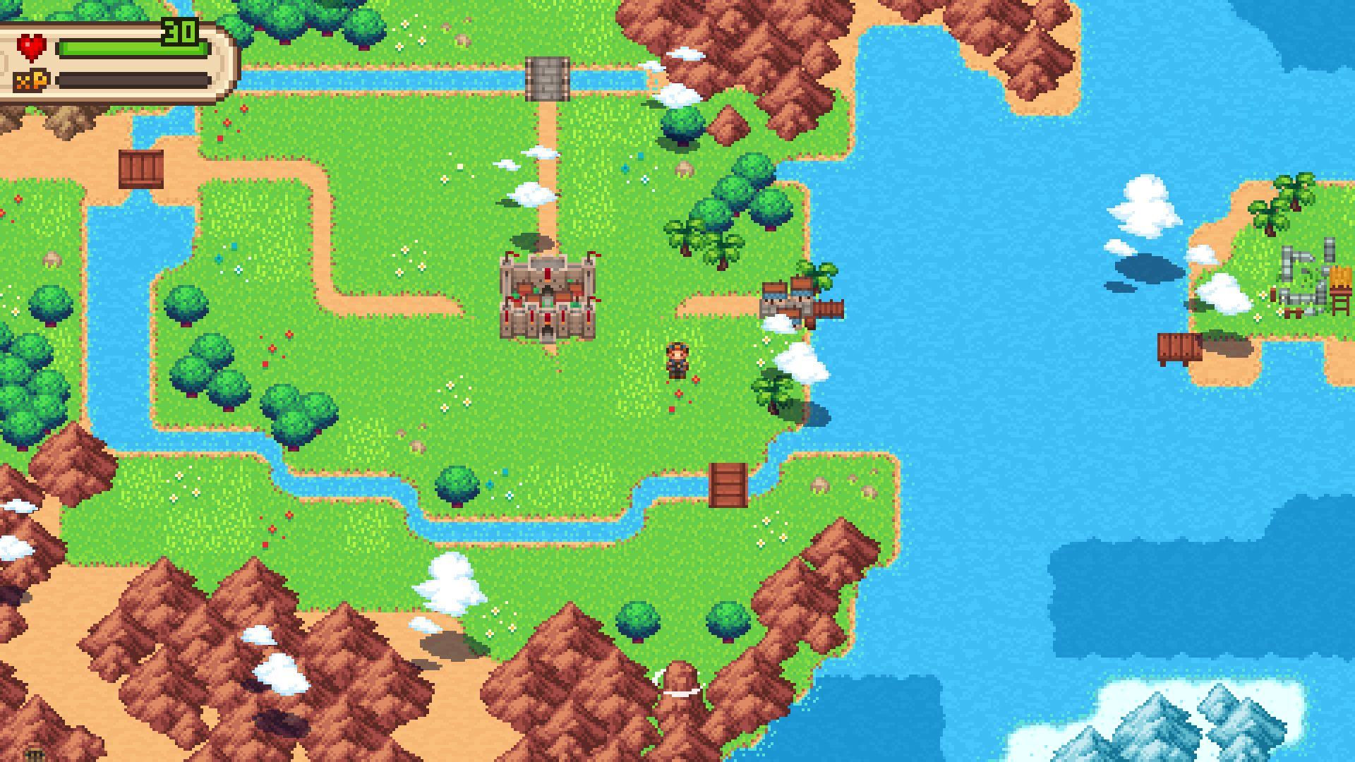 Screenshot from Evoland 2: A Slight Case of Spacetime Continuum Disorder (6/6)