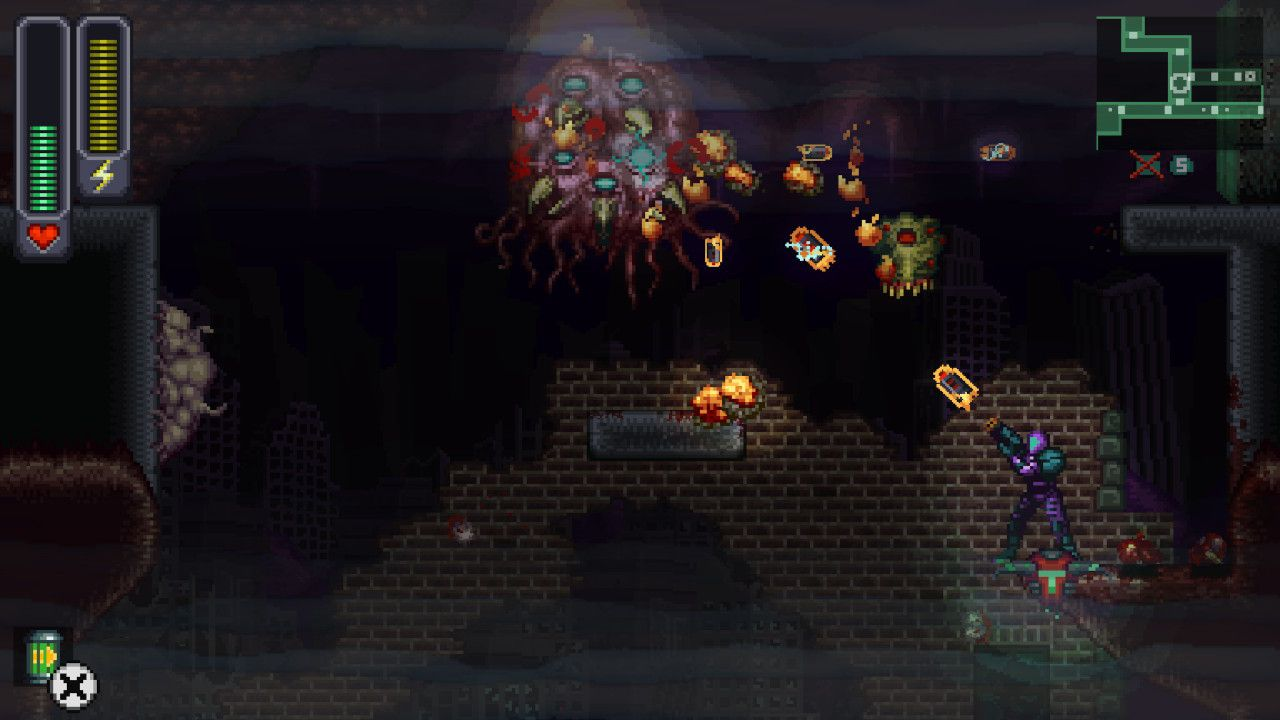 Screenshot from A Robot Named Fight! (2/10)