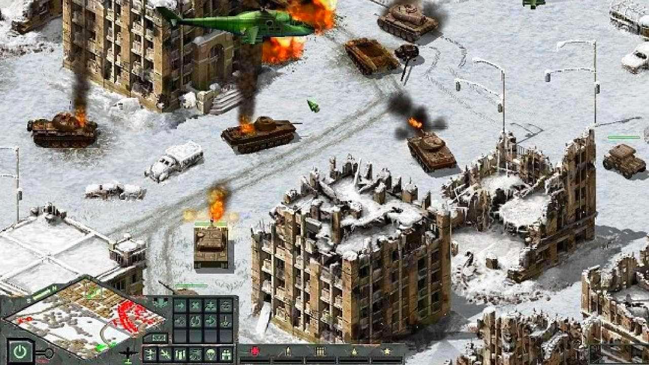 Screenshot from Cuban Missile Crisis: Ice Crusade (4/7)