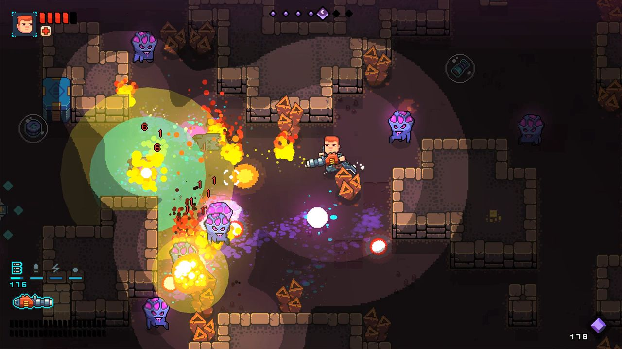 Screenshot from Space Robinson: Hardcore Roguelike Action (6/6)