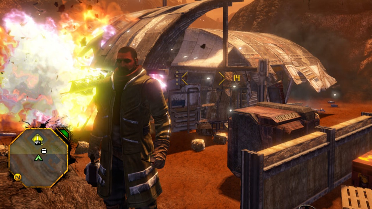 Screenshot from Red Faction Guerrilla Re-MARS-tered (1/6)