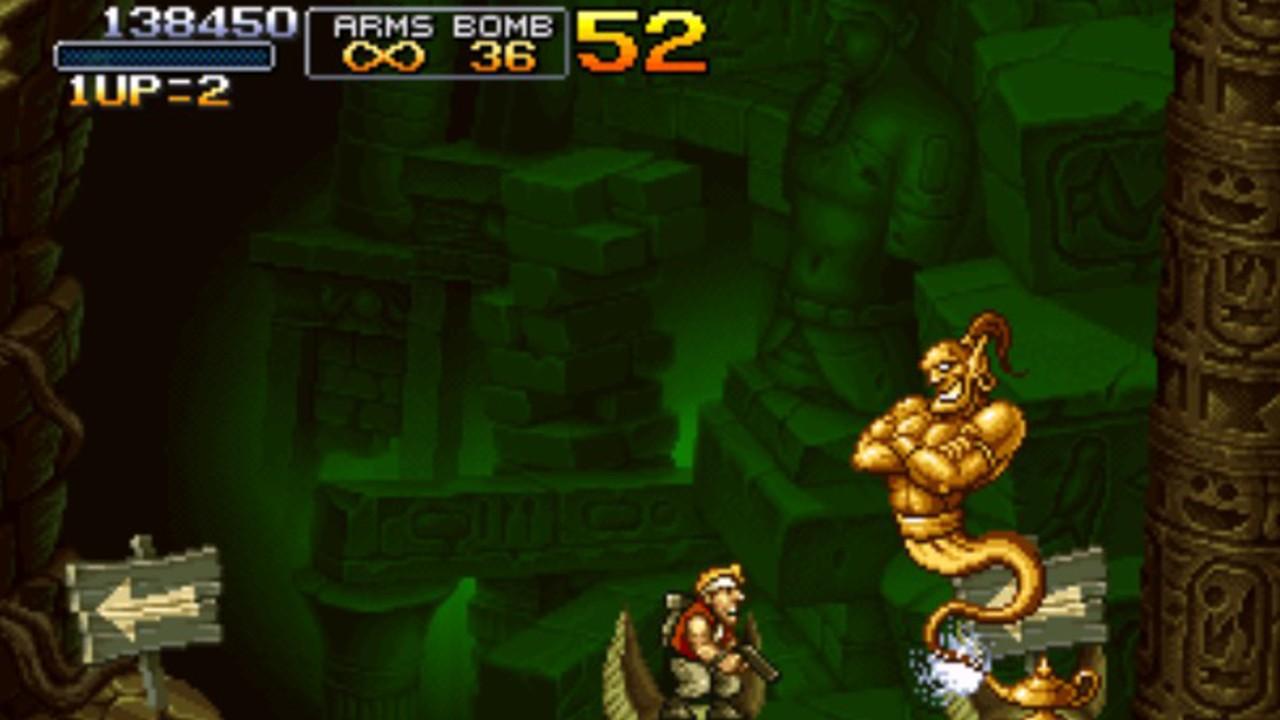 Screenshot from Metal Slug X (3/8)