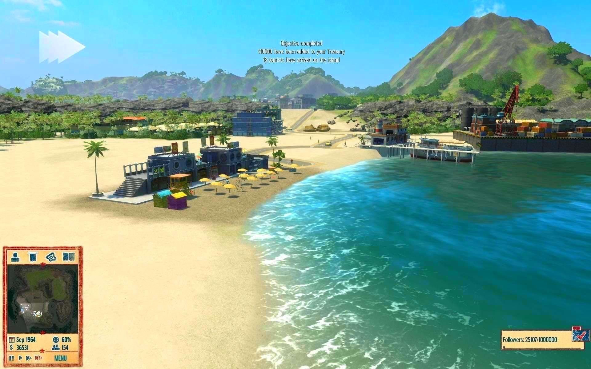 Screenshot from Tropico 4 (3/5)