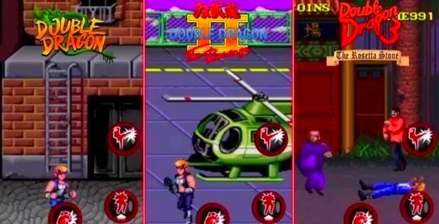 Screenshot from Double Dragon Trilogy (2/4)