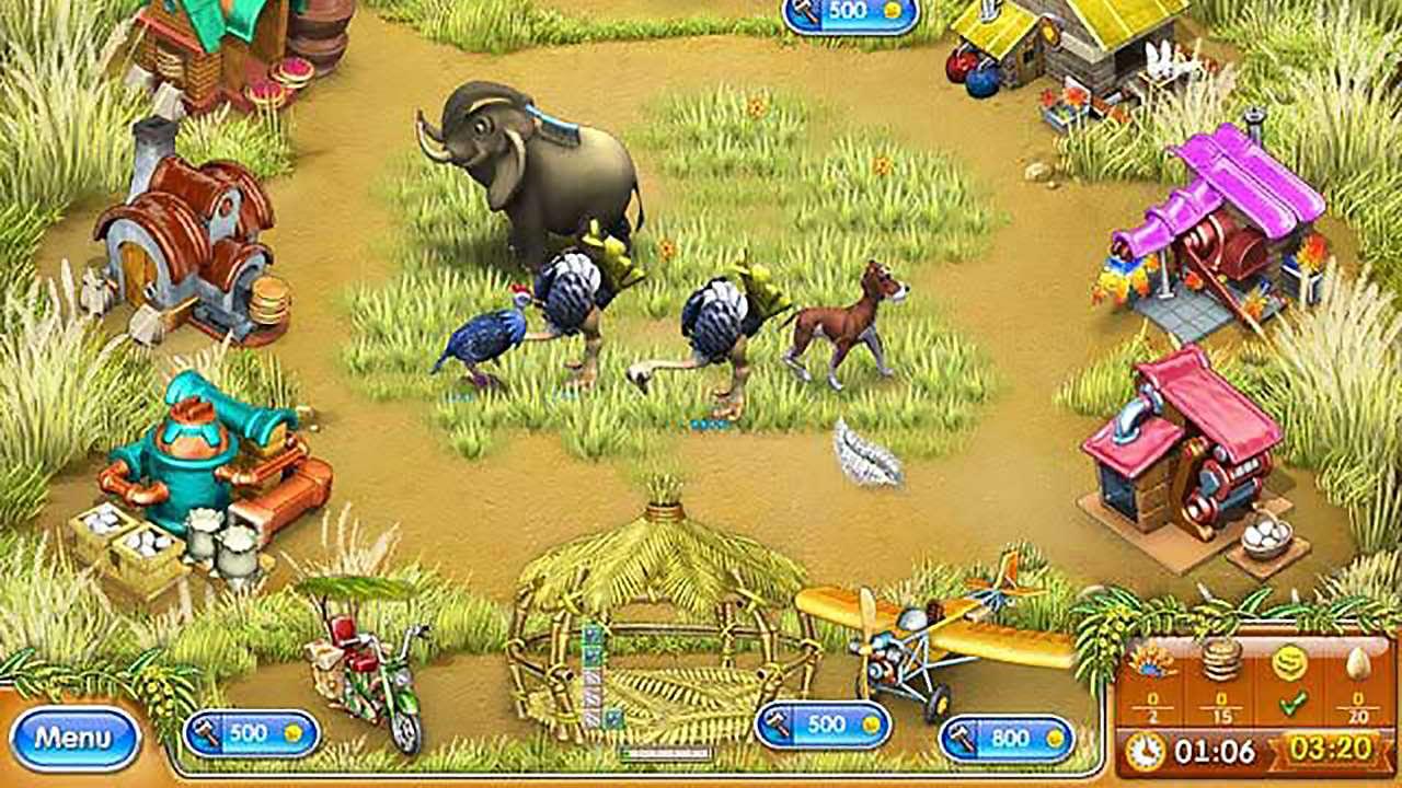 Screenshot from Farm Frenzy 3: Madagascar (5/6)