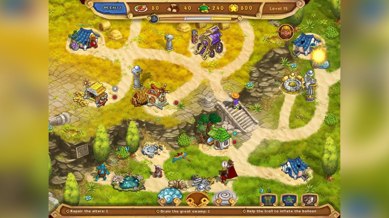 Screenshot from Weather Lord: Legendary Hero Collector's Edition (2/8)