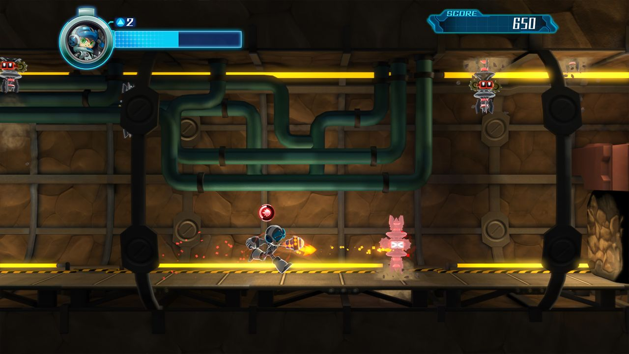 Screenshot from Mighty No. 9 (8/10)