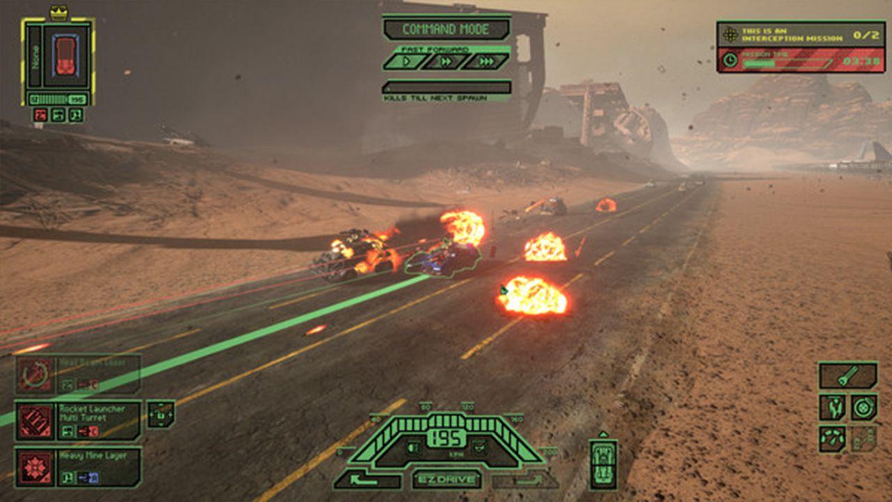 Screenshot from Dark Future: Blood Red States (7/8)