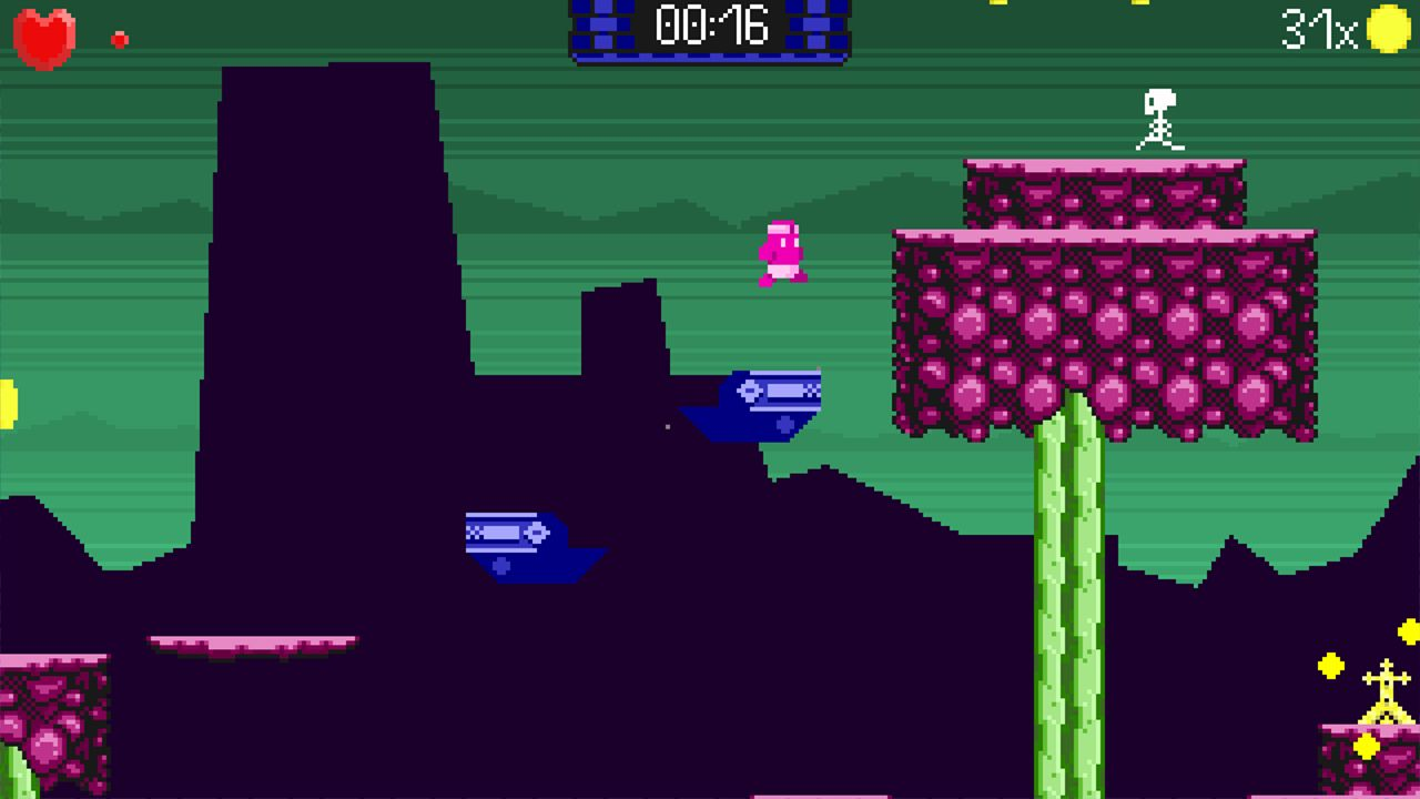 Screenshot from Super Skull Smash GO! 2 Turbo (1/8)