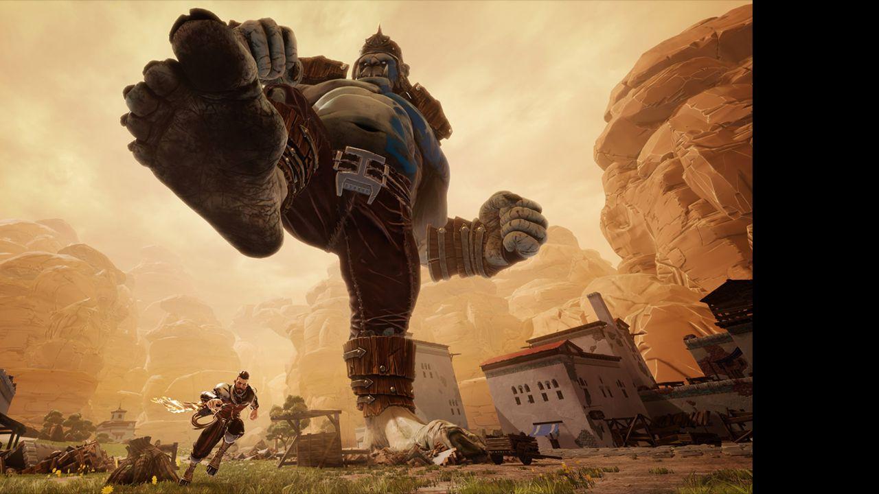 Screenshot from Extinction (5/5)