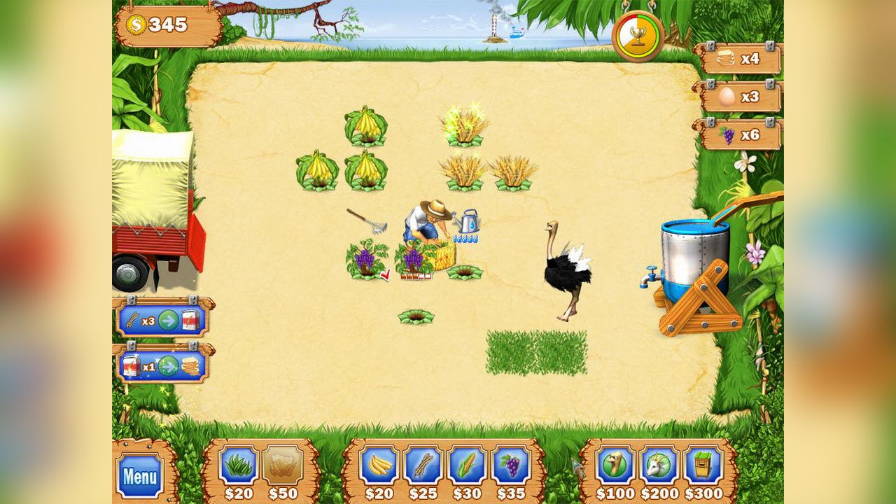 Screenshot from Tropical Farm (1/8)