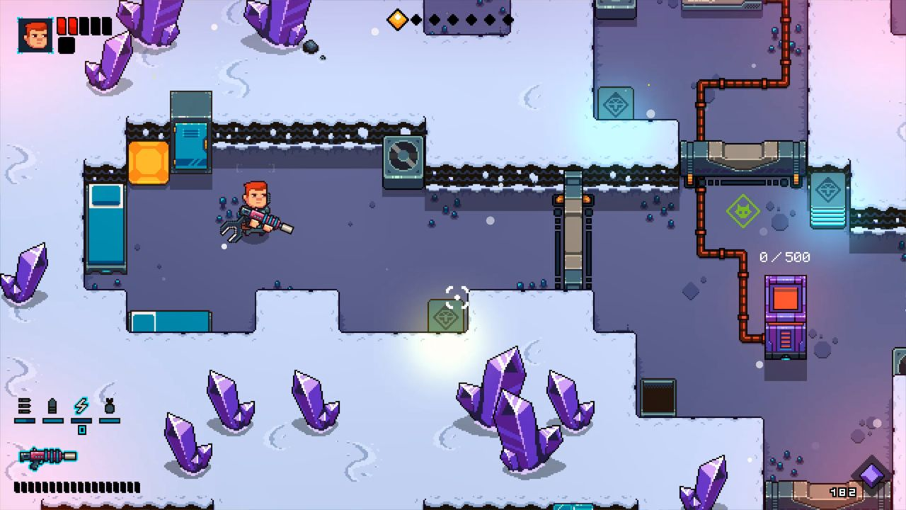 Screenshot from Space Robinson: Hardcore Roguelike Action (2/6)