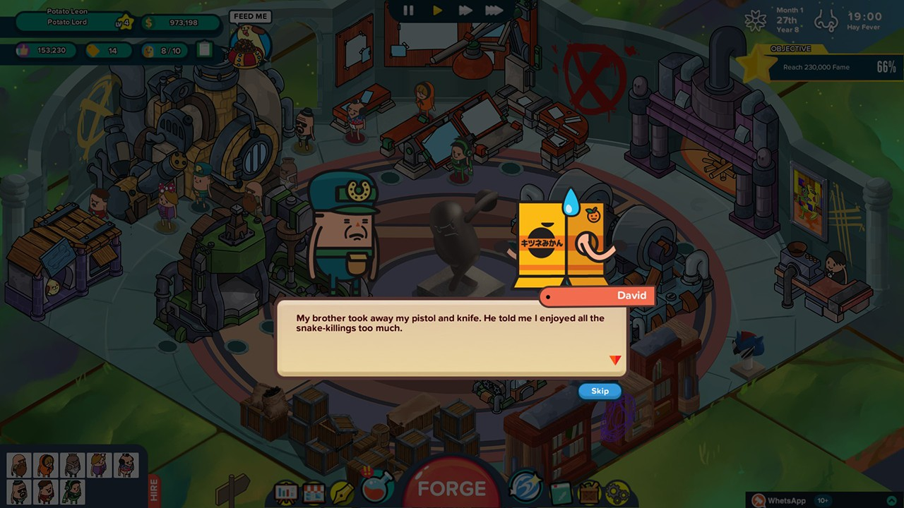 Screenshot from Holy Potatoes! A Weapon Shop?! (2/7)