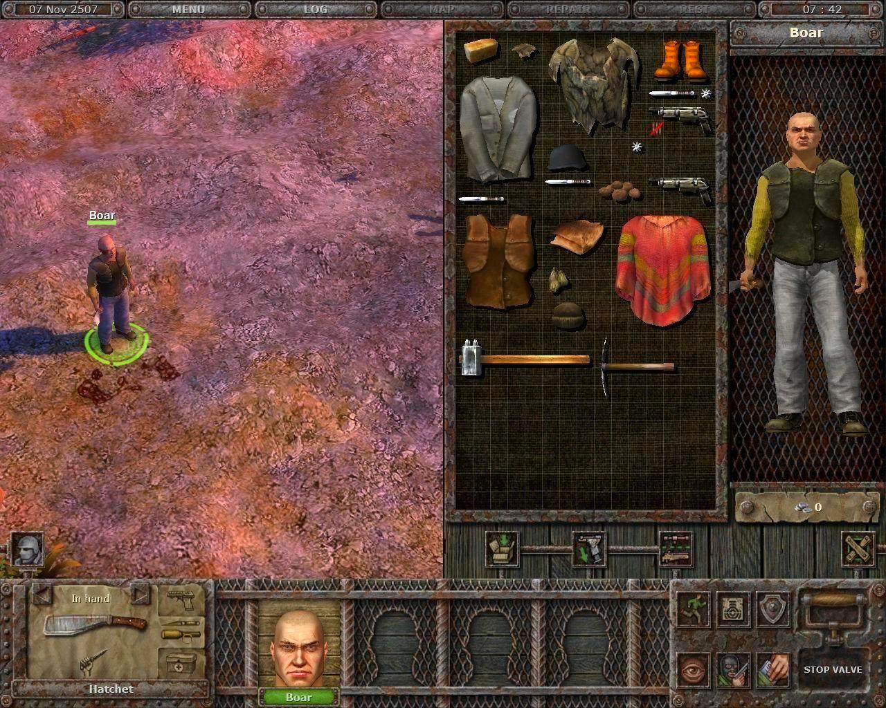 Screenshot from Planet Alcatraz (4/4)