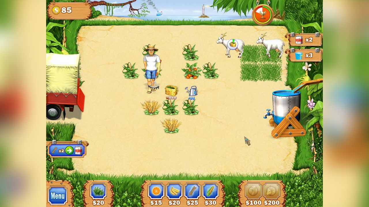 Screenshot from Tropical Farm (5/8)