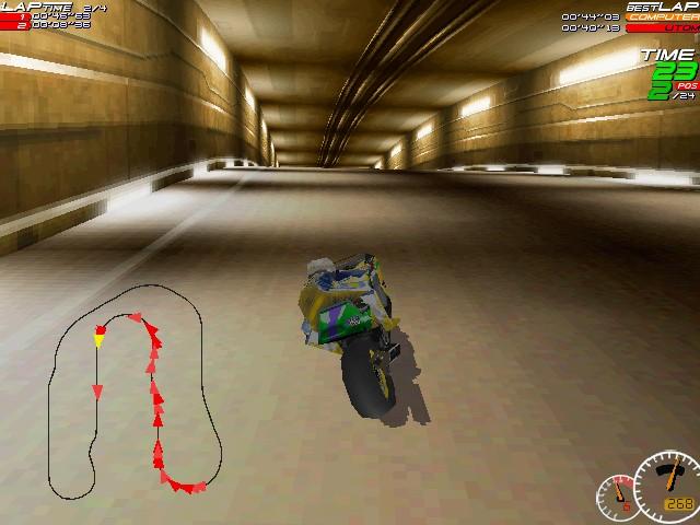 Screenshot from Moto Racer (5/8)