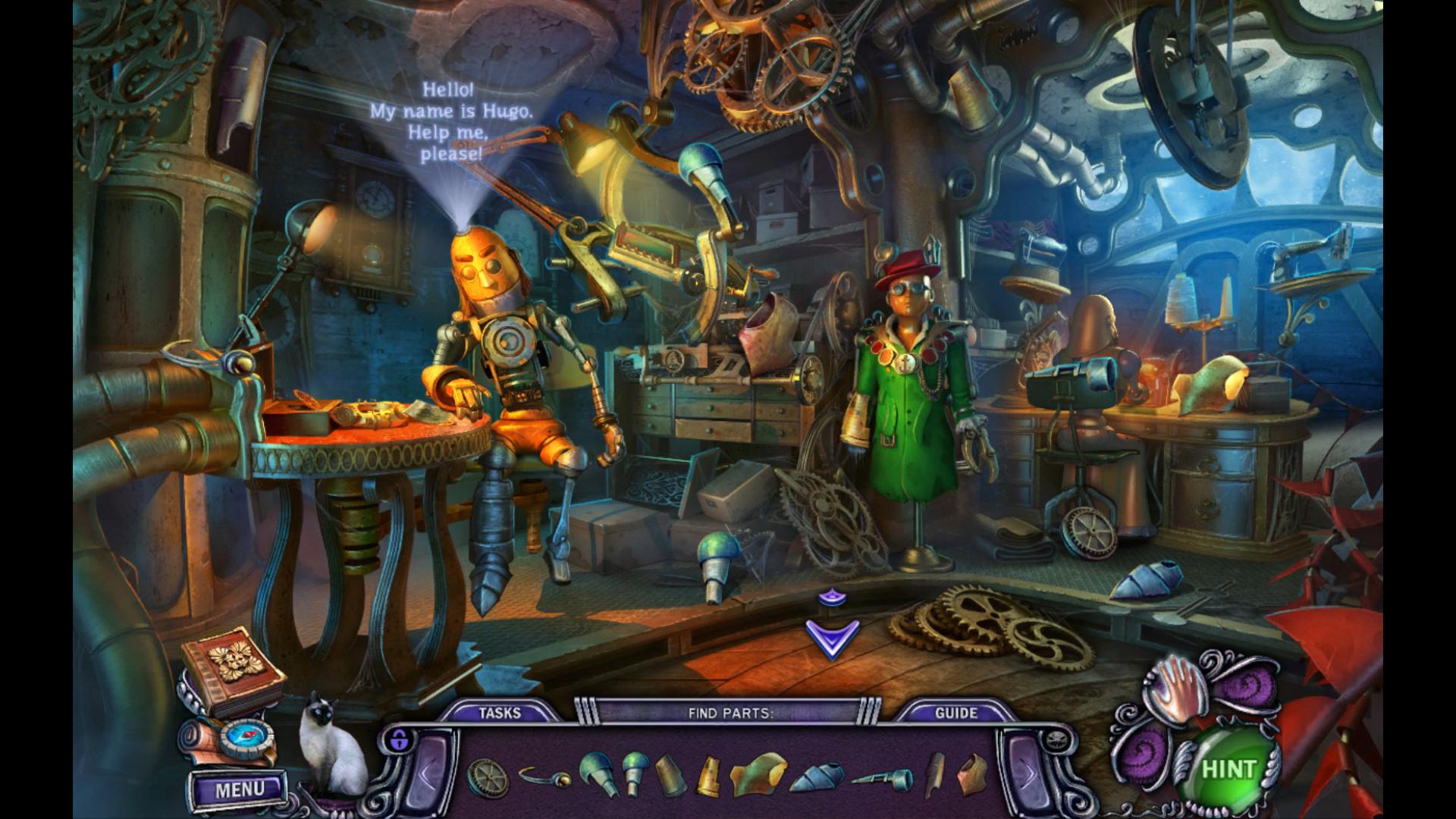 Screenshot from House of 1000 Doors: Evil Inside (6/9)