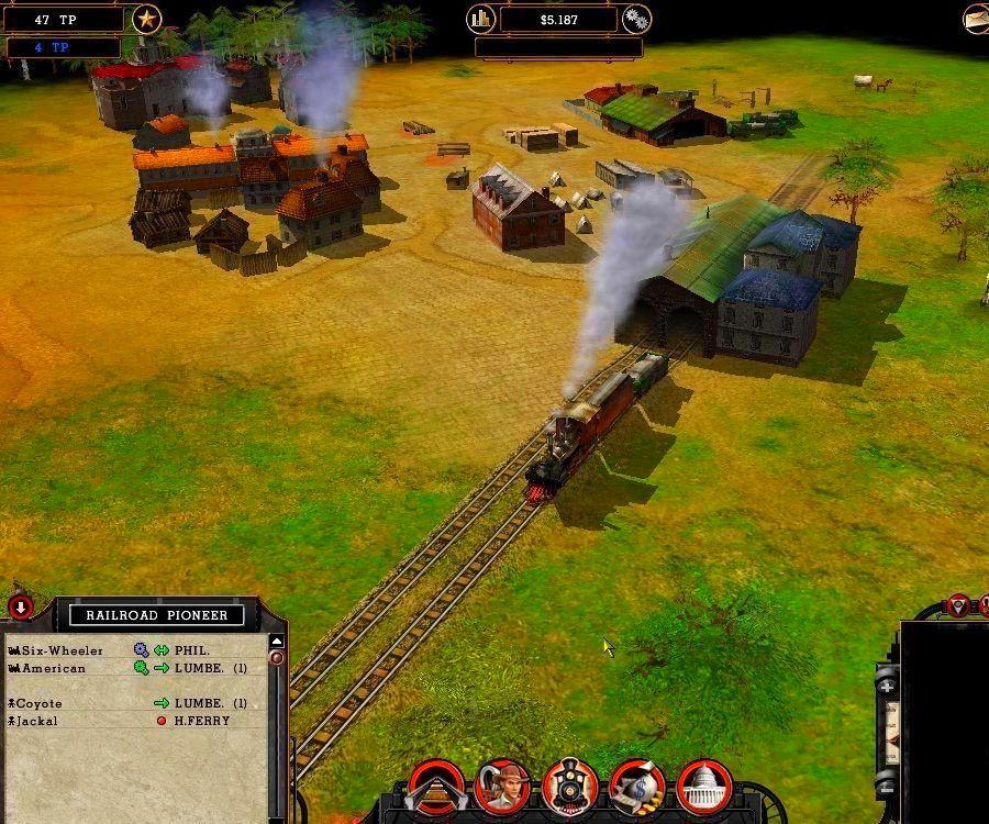 Screenshot from Railroad Pioneer (2/4)
