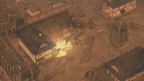 Screenshot from Shadow Tactics: Blades of the Shogun (2/7)
