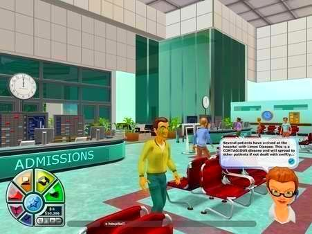 Screenshot from Hospital Tycoon (3/5)