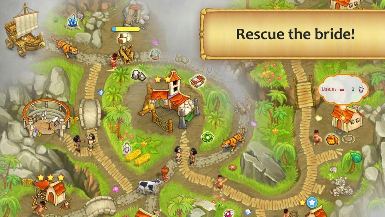 Screenshot from Island Tribe 3 (5/5)