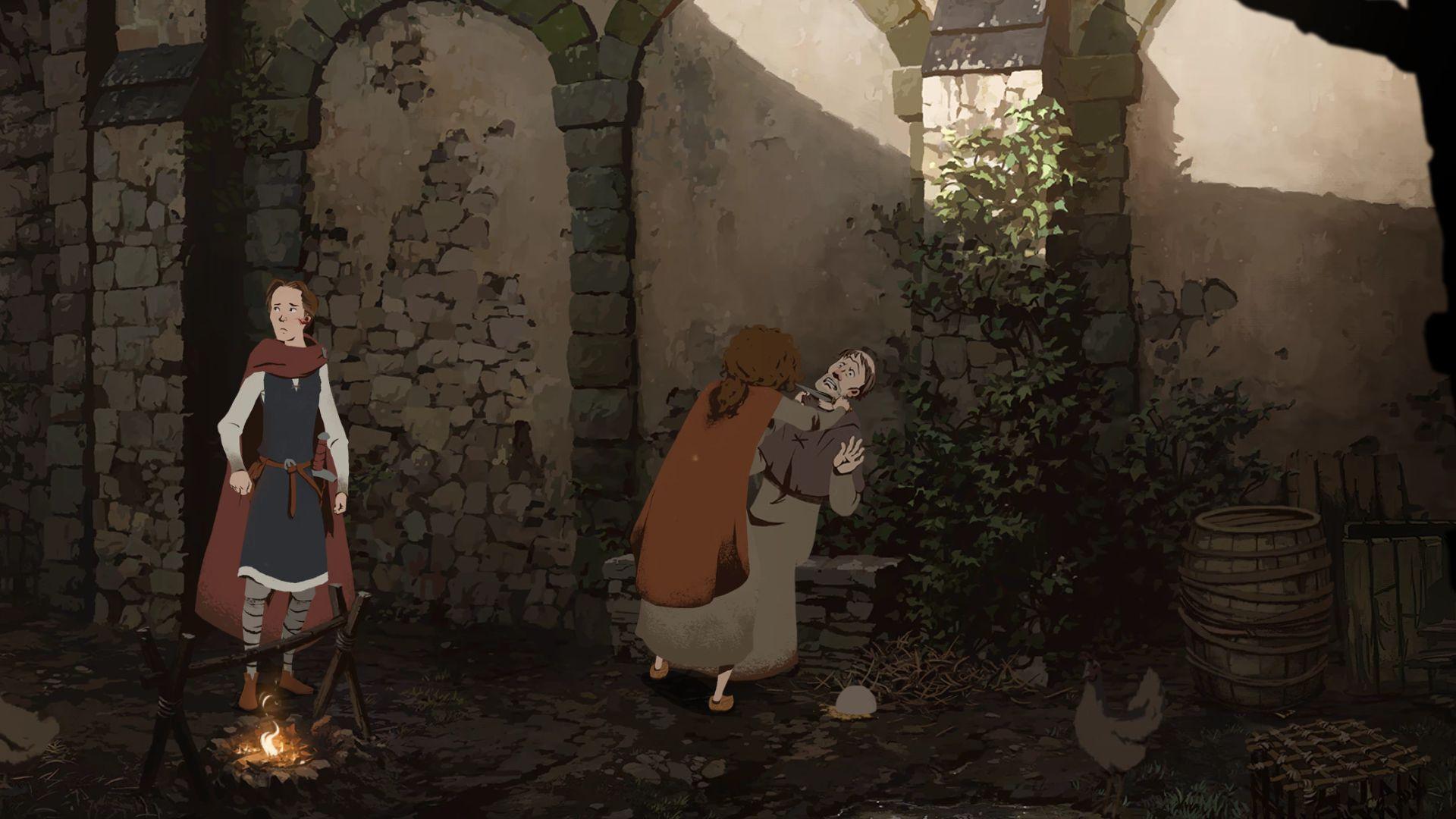 Screenshot from Ken Follett's The Pillars of the Earth (7/10)