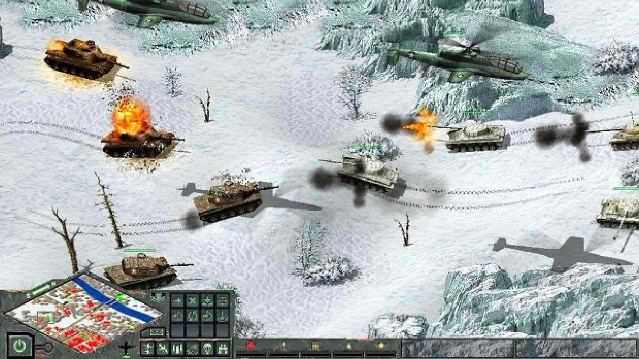 Screenshot from Cuban Missile Crisis: Ice Crusade (5/7)