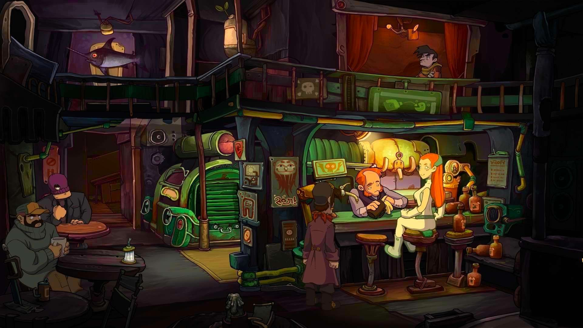 Screenshot from Deponia: The Complete Journey (3/9)