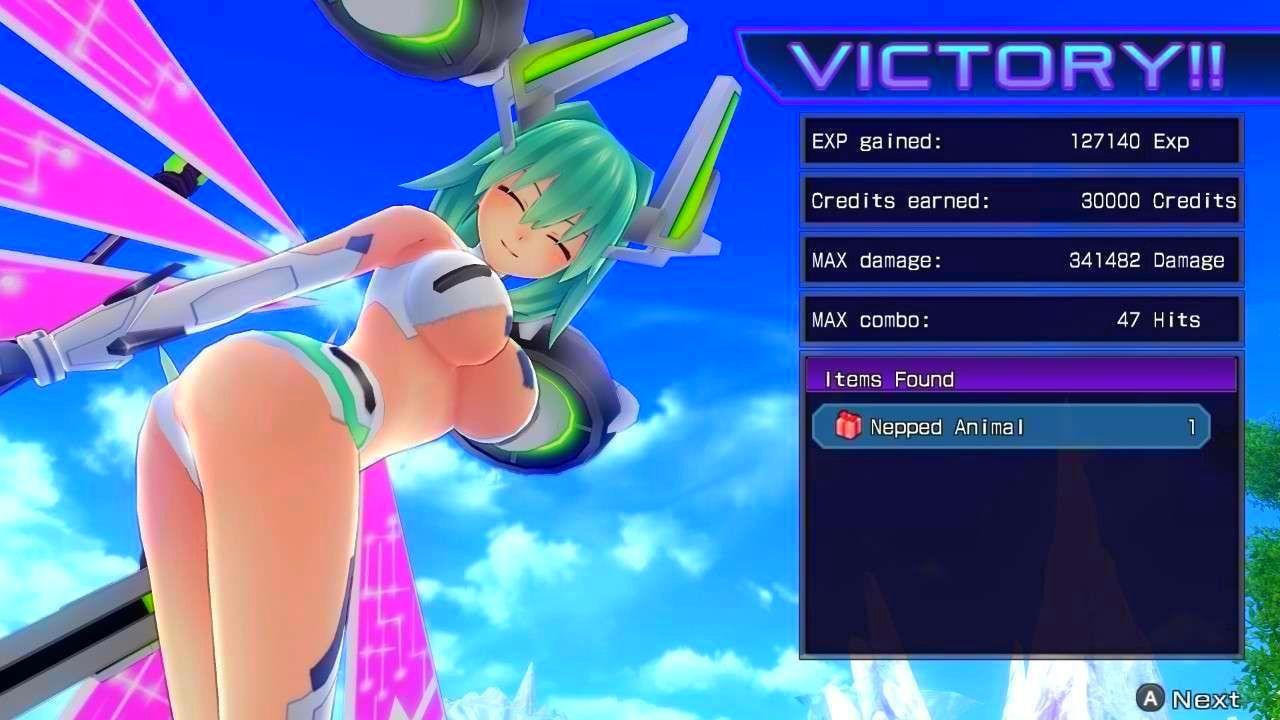 Screenshot from Hyperdimension Neptunia Re;Birth1 (5/10)