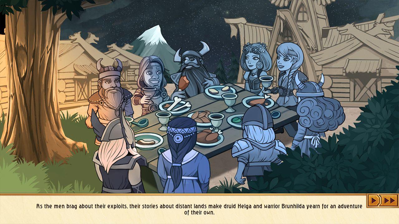 Screenshot from Viking Sisters (4/10)