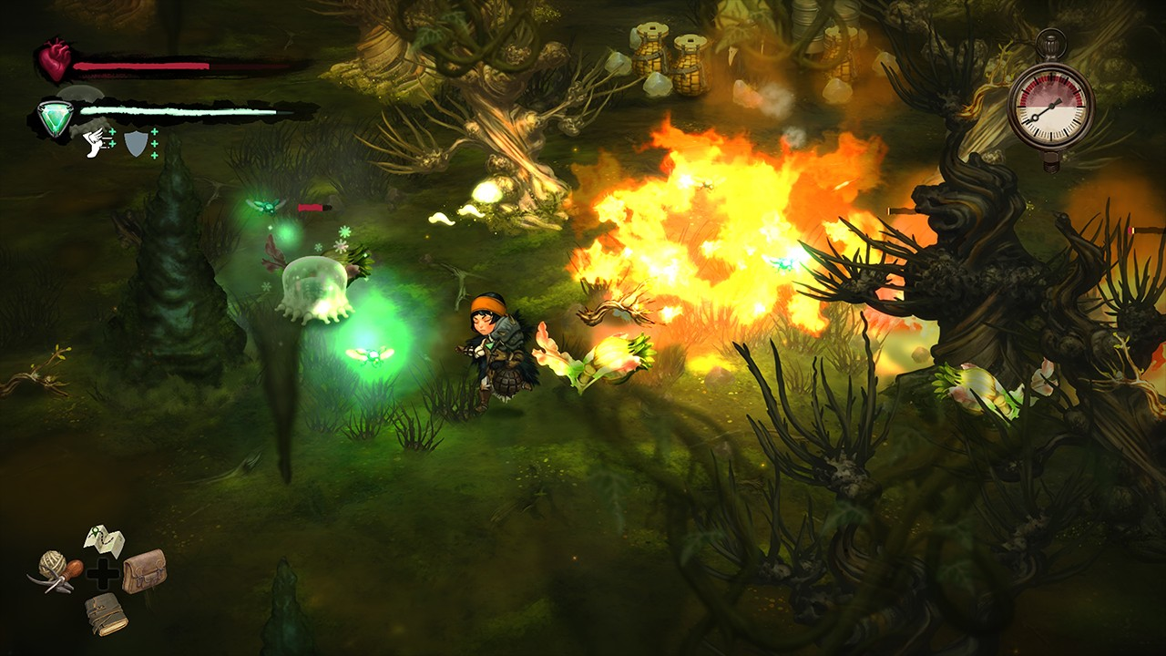 Screenshot from Smoke and Sacrifice (5/7)