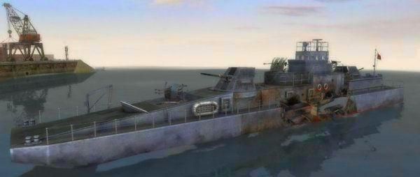 Screenshot from Men of War: Red Tide (1/4)