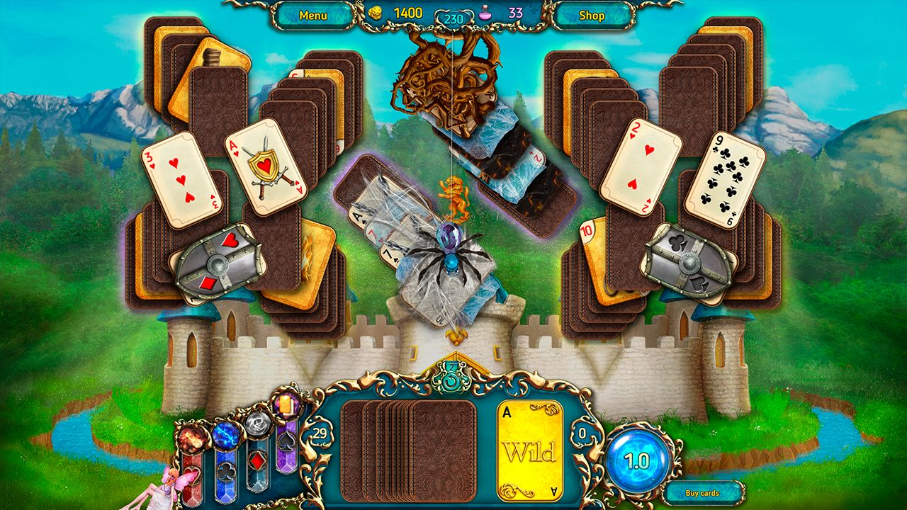 Screenshot from Dreamland Solitaire: Dark Prophecy Collector's Edition (6/8)