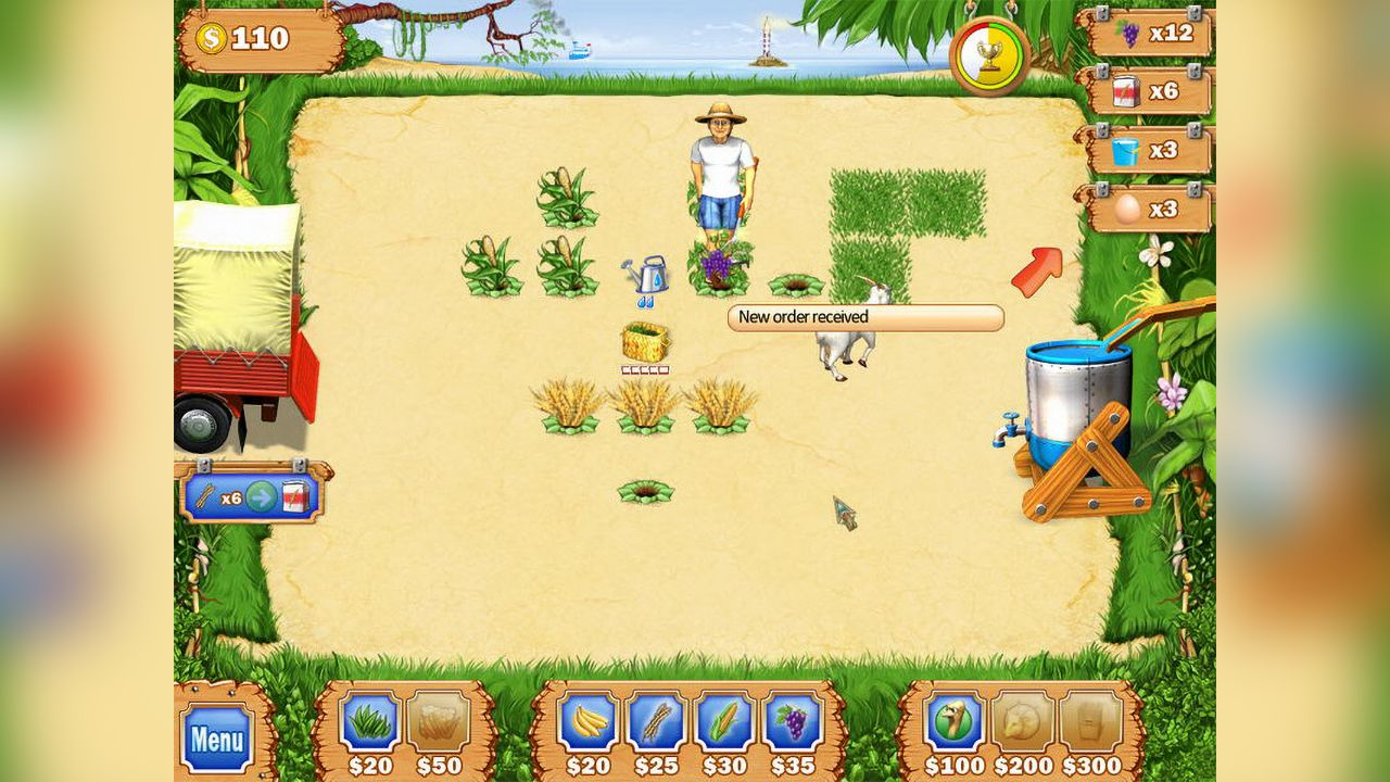Screenshot from Tropical Farm (6/8)